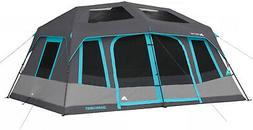 Camping Tent 10-Person Dark Rest Instant Cabin 14 ft. x 10 f