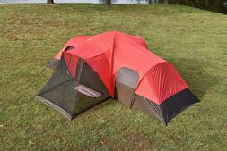 Large Tent Camping Outdoor Ozark Trail 3 Room 10 Person Fami