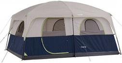 10 Persons Family Cabin Tent Ozark Trail Blue All Season Sle