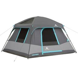 Ozark Trail 10'x9' Dark Rest Cabin Tent 6 Person Outdoor Cam