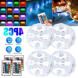 Submersible LED Bulb Underwater Light Fountain Swimming Pool