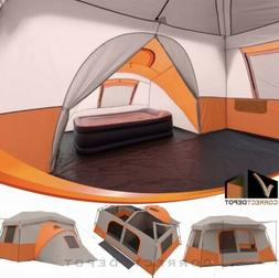 Ozark Trail 11 Person 3 Room Instant Cabin Tent Outdoor Camp