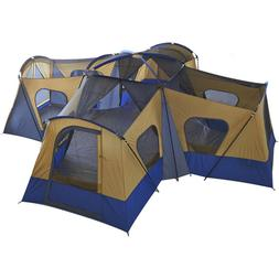 Ozark Trail 14-Person 4-Room Base Camp Cabin Tent W/ 4 Entra