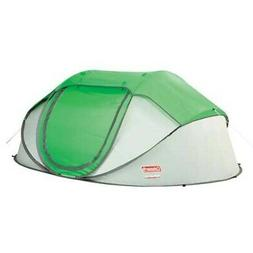 "Coleman 2000014782 4 Person 9'2"" x 6'6"" Green/Gray Popup Cam"