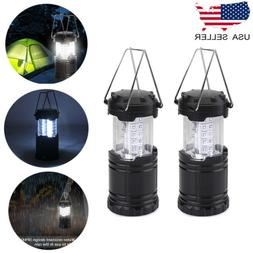 2PCS Tent Light 30 LED Camping Hiking Gear Equipment Outdoor