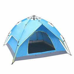 3 4person outdoor camping hiking waterproof automatic