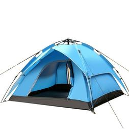 3-4Person Outdoor Camping Hiking Waterproof Automatic Instan