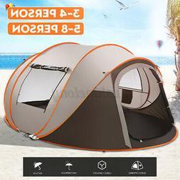 3 IN 1 Waterproof UV Resistance Camping Tent Outdoor Easy Se