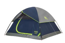 Coleman 3-Person Dome Tent for Camping Sundome Tent with Eas