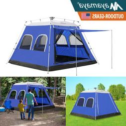 4-6 Person Instant Camping Tent Automatic Family Cabin Sun S