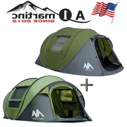 4-6 Person Waterproof Family Camping Tent Pop up Outdoor She