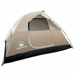 4 Person Water Resistant Dome Tent Rain Fly for Camping 7 x