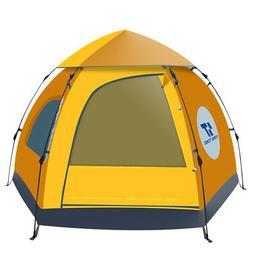 4 Season Outdoor Tent Waterproof Portable 5-6 People Outdoor