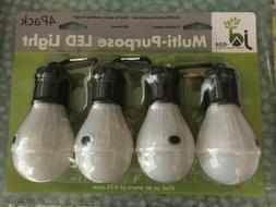 4pcs portable led camping lantern light bulbs
