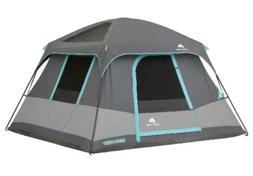 6 Person Blackout Cabin Tent 10' x 9' Dark Rest Camping Keep