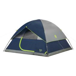Coleman 6-Person Camping Tent Outdoor Person Instant Family