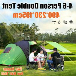 6 Person Large Family Camping Tent Waterproof Hiking Travel