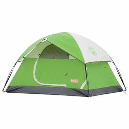 6 person sundome tent polyester camping fishing