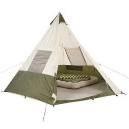 Ozark Trail 7 Person Teepee Tent Sleeping Outdoor Family Rai