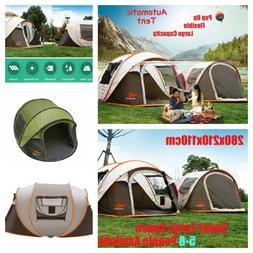 8 People Tent For Camping Tents  Windproof Waterproof Pop Up