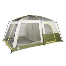 8 Person 14' x 9' Cabin Camping Tent Polyester with Sewn In