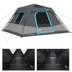 NEW - Ozark Trail 6-Person Dark Rest Instant Cabin Tent