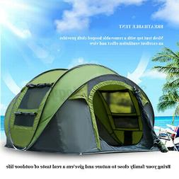 Auto Pop Up Tent Waterproof Portable Outdoor Camping Hiking