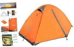 Azarxis 1 2 Man Person 3 Season Tent for Camping Backpacking