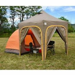 Apex Camp Dome Tent With Canopy and Walls, Camping & Hiking