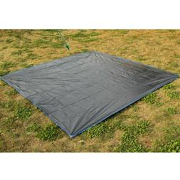 Camping Canopy Tent Ground Sheet Folding Mat Tarp Footprint