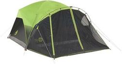 Coleman Camping Dome Tent 5 ft. 8 in. Center Durable Polygua