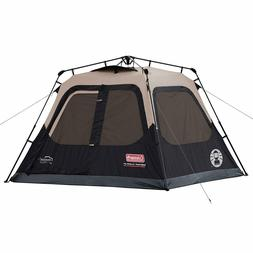Coleman Cabin Tent for Camping Sets Up in 60 Sec for 4-6 pe