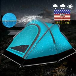 Alvantor Camping Tent Outdoor Warrior Pro Teal w Stakes Fram