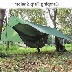 Camping Tent Tarp Sunshade Shelter Awning Mat Waterproof Ham