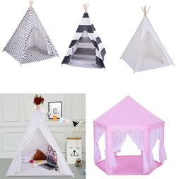 Canvas Tent | Camping Indoor Outdoor Portable Tent For Kids