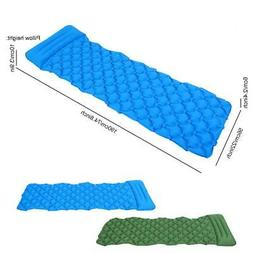 Folding Inflatable Mat Sleeping Pad Outdoor Camping Tent Air