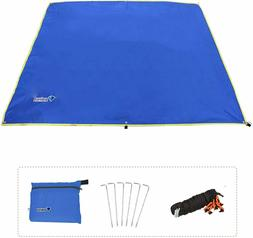 Azarxis Ground Cloth for Tent Tarp Footprint Camping Backpac