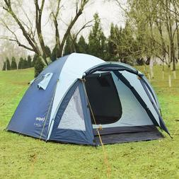 KingCamp Holiday 3 Person 3 Seasons Camping Tent for Family