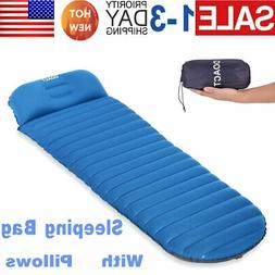 Inflatable Air Mattress Outdoor Tent Mat for Camping Hiking