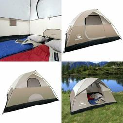 Instant Tent Sleeps 4 Person Camping Outdoor 7 x 9 Feet Wate
