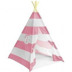 Kids Teepee Play Tent Pretend Girl Camp Indoor Toy Travel Ba