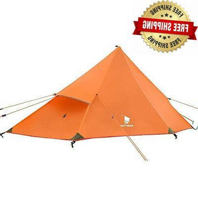 Geertop 1 Person 3 Season 20D Ultralight Backpacking Tent fo