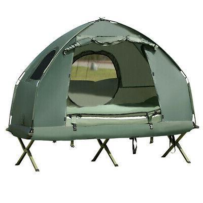 1-Person Portable Tent/Camping Cot Mattress & Bag