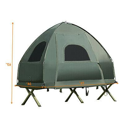 1-Person Tent/Camping Mattress & Sleeping Bag