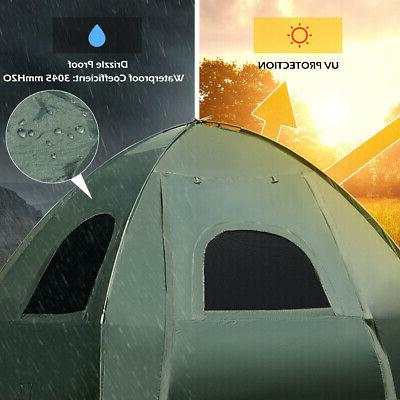 Tent/Camping Cot w/ Mattress & Sleeping Bag
