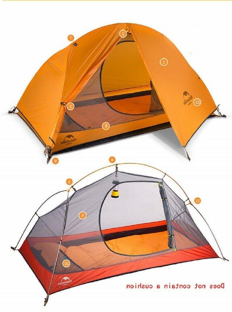1 Waterproof Windproof Ultralight Single Camp Tent