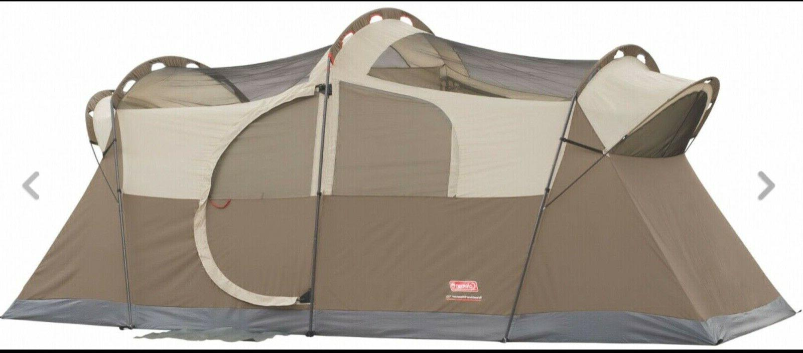 Coleman 10 Dome Tent Large Setup Outdoor Sleeping Unit (Ne