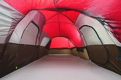 10-Person Camping Tent Large Outdoor Waterproof Divider New