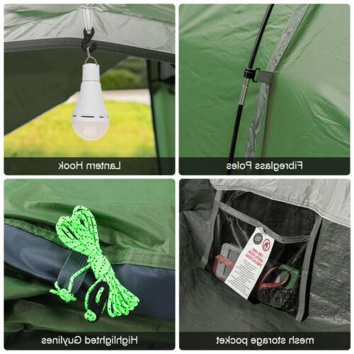 4 Double-Walled Waterproof Backpacking
