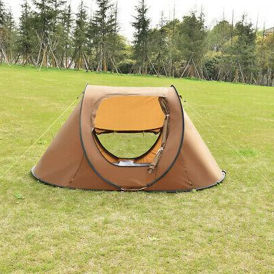 2-3 Person Camping Tent Automatic Quick Shelter Outdoor